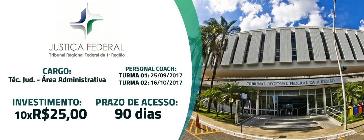 TRF 1ª Região - Técnico Judiciário - Área Administrativa